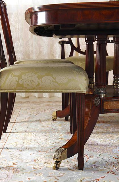 The English Cabinetmaker イングリッシュキャビネットメーカー サイドチェアー 【M4000-839G】